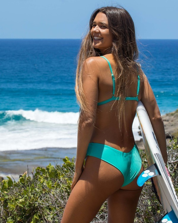 0 Sol Searcher Fiji Bikini Bottom Green XB702BSO Billabong