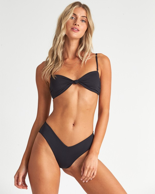 0 Sol Searcher Bandeau Bikini Top Black XT011BSO Billabong