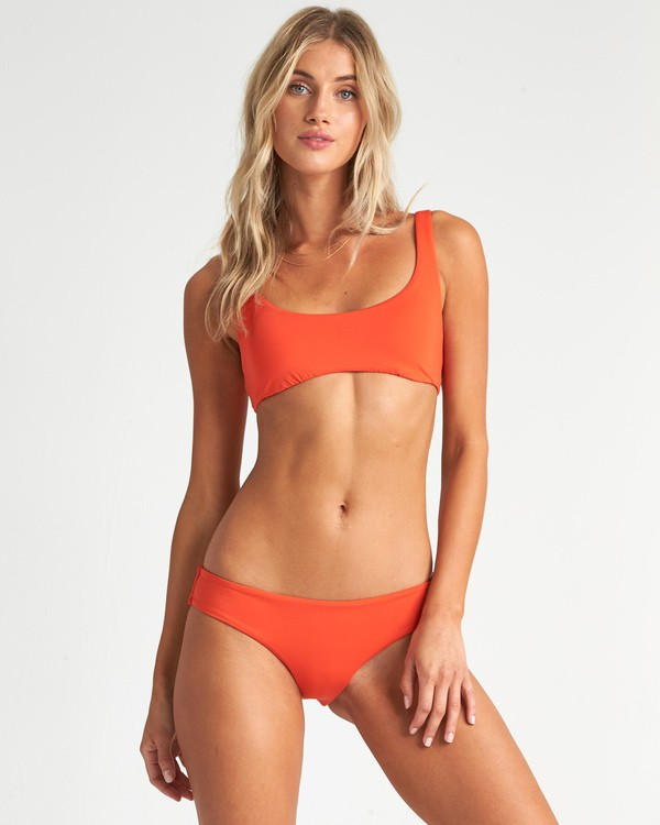 0 Sol Searcher Bralette Bikini Top Orange XT021BSO Billabong