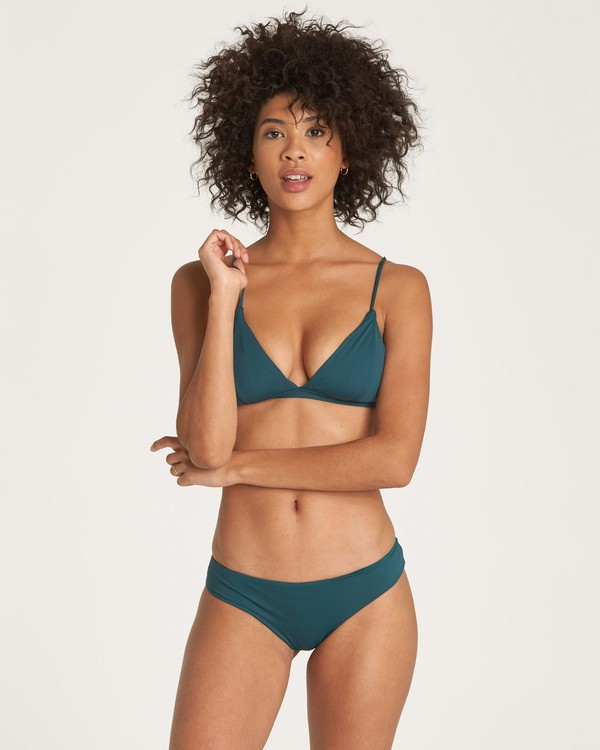 0 Sol Searcher Fix Tri Bikini Top Green XT02UBSO Billabong