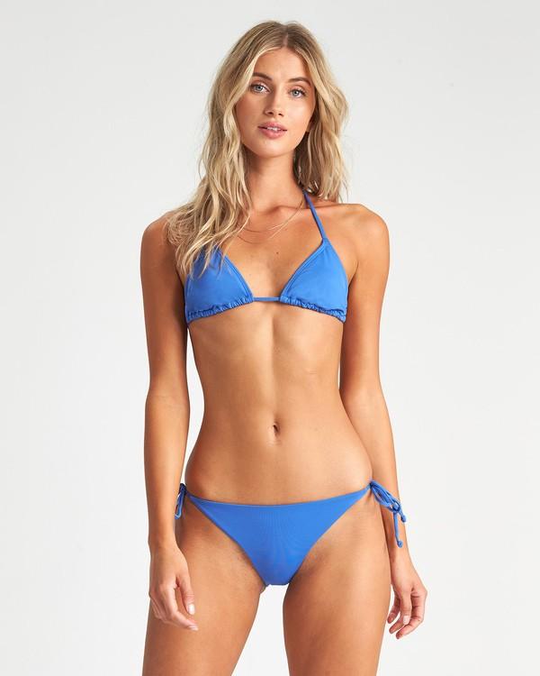 0 Sol Searcher Triangle Bikini Top Blue XT031BSO Billabong