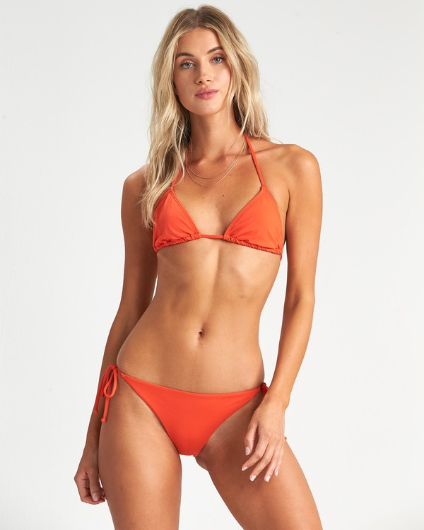 0 Sol Searcher Triangle Bikini Top Orange XT031BSO Billabong