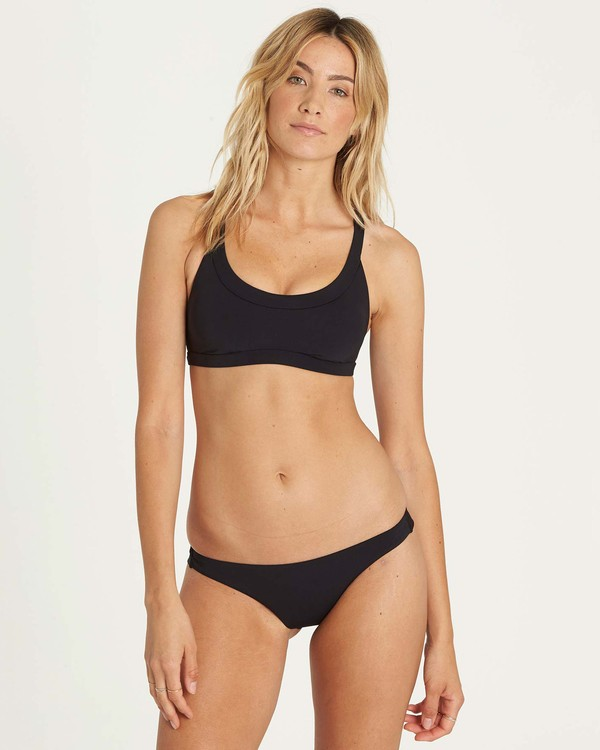 0 Sol Searcher Tank Bikini Top Black XT03NBSO Billabong