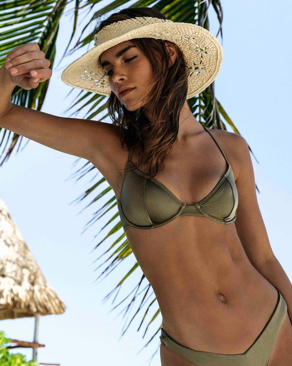 0 Sol Searcher Underwire Bikini Top Green XT03TBSO Billabong
