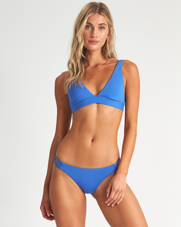 0 Sol Searcher Triangle Bikini Top Blue XT051BSO Billabong