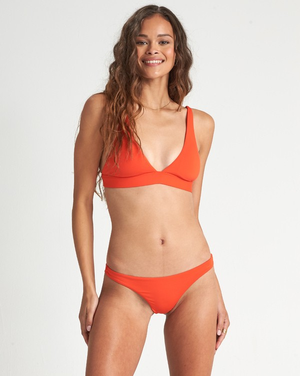 0 Sol Searcher Triangle Bikini Top Orange XT051BSO Billabong