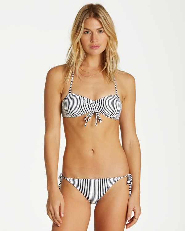 0 Long Ride Tube Bikini Top Grey XT18VBLO Billabong