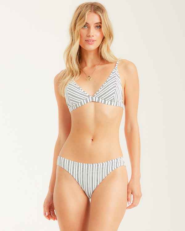 0 Easy On Me Tall Tri Bikini Top White XT242BEA Billabong