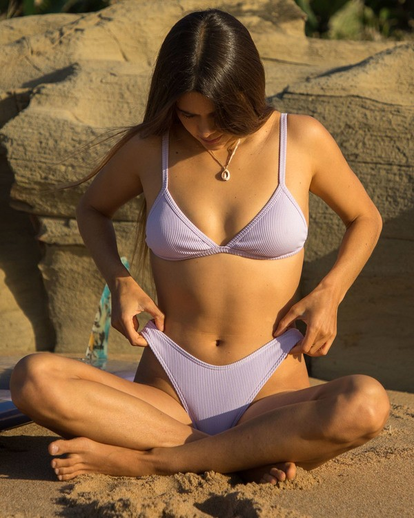 0 Sand Dunes Tri Bikini Top Purple XT253BSA Billabong