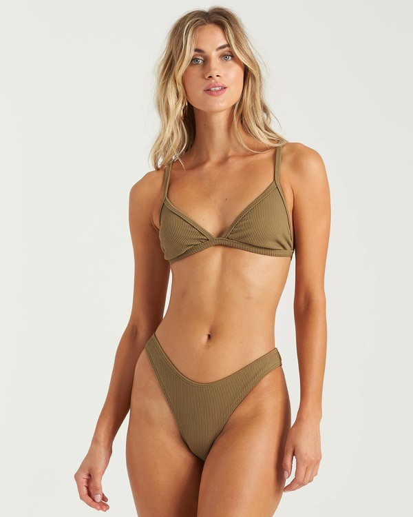 0 Sand Dunes Tri Bikini Top Green XT253BSA Billabong