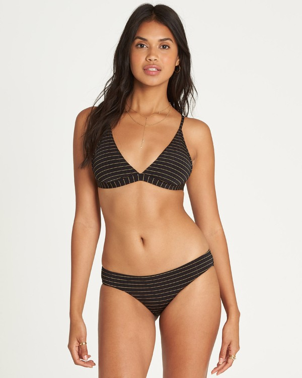 0 Warm Days Tri Bikini Top Black XT25UBWA Billabong