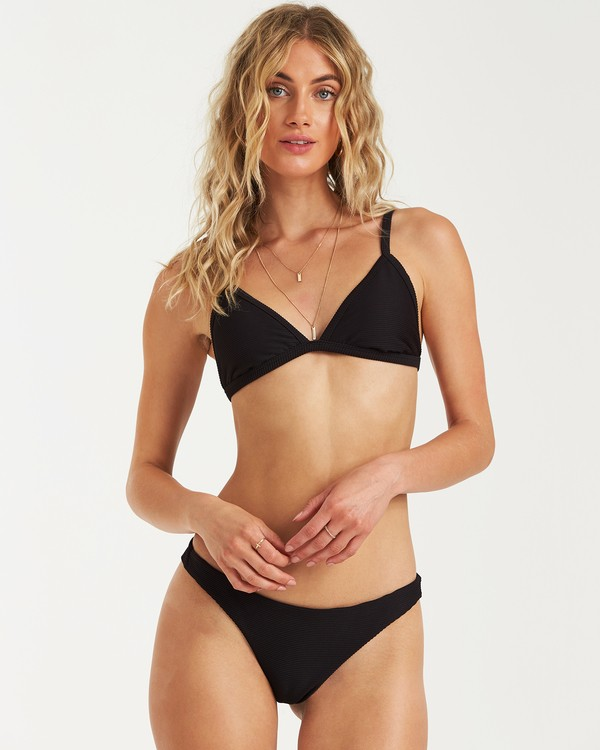 0 Tanlines Fixed Tri Bikini Top Black XT25VBTA Billabong