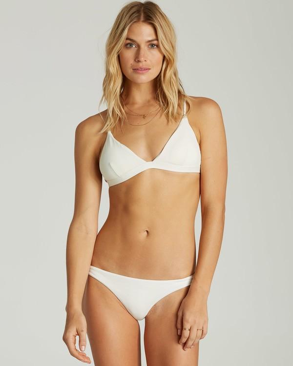 0 Sol Searcher Fixed Triangle Bikini Top White XT27LSOL Billabong