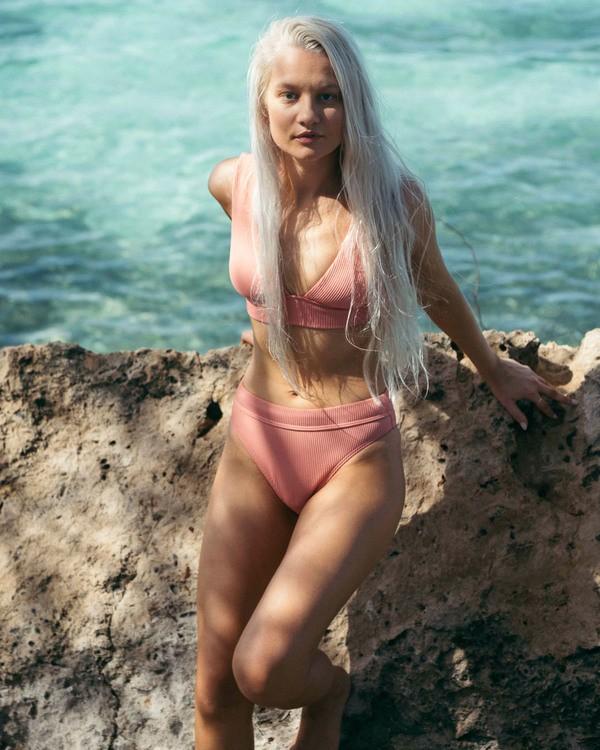 0 Sand Dunes Plunge Bikini Top Grey XT283BSA Billabong