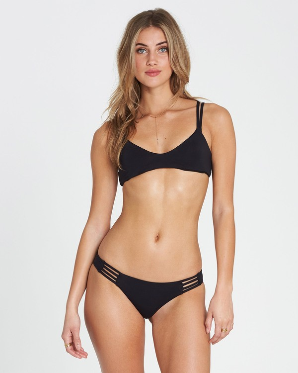 0 Sol Searcher Crossback Bikini Top Black XT29QBSO Billabong