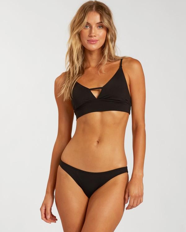 0 Sol Searcher V Cami Bikini Top Black XT463BSO Billabong