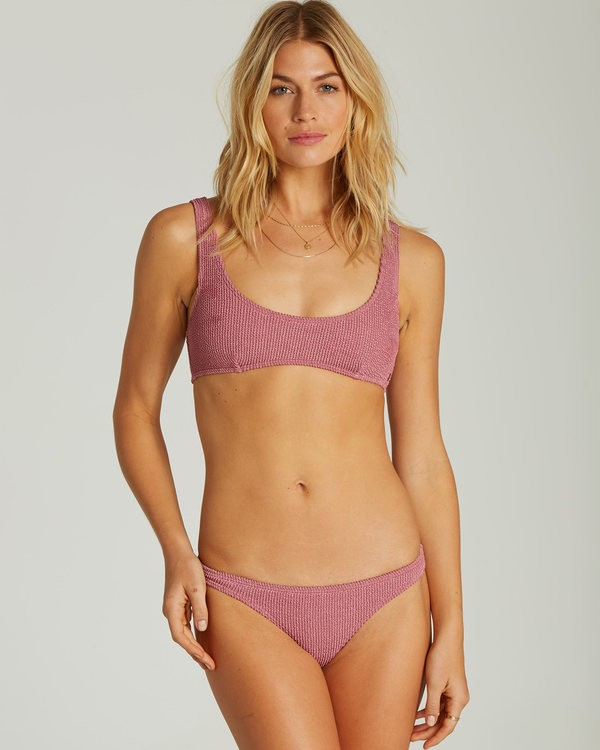 0 Summer High Bralette Bikiini Top Purple XT50QBSU Billabong