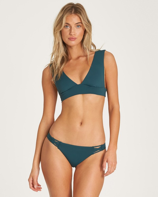 0 Sol Searcher Plunge Bikini Top Green XT53UBSO Billabong