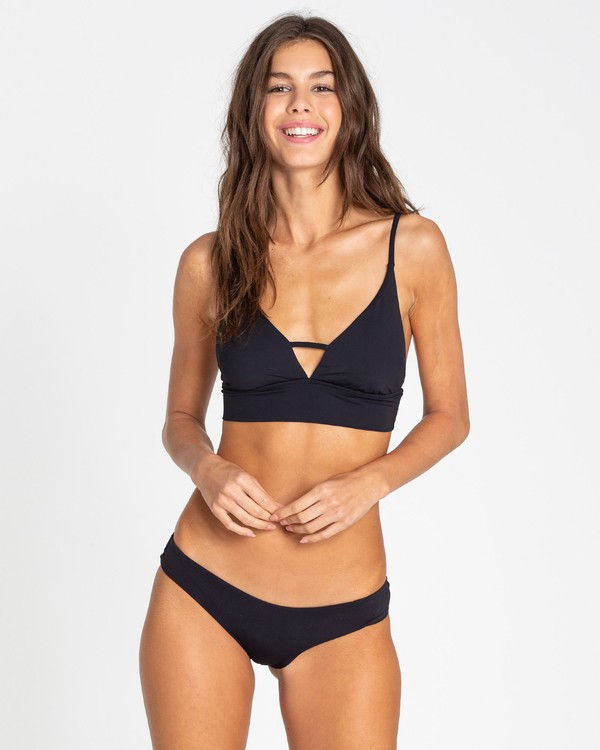 0 Sol Searcher V Cami Bikini Top Black XT70TBSO Billabong