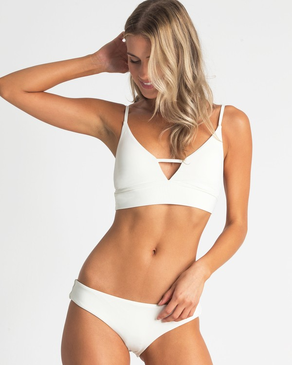 0 Sol Searcher V Cami Bikini Top White XT70TBSO Billabong
