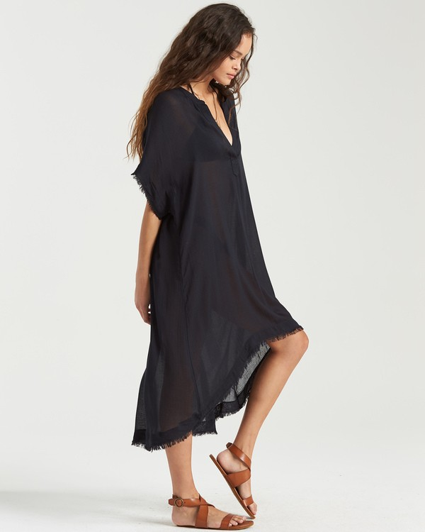 0 Found Love Cover Up Black XV01TBFO Billabong