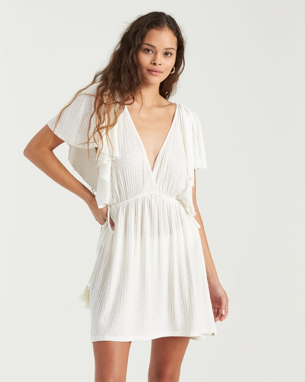 0 Short Tides Dress White XV023BSH Billabong