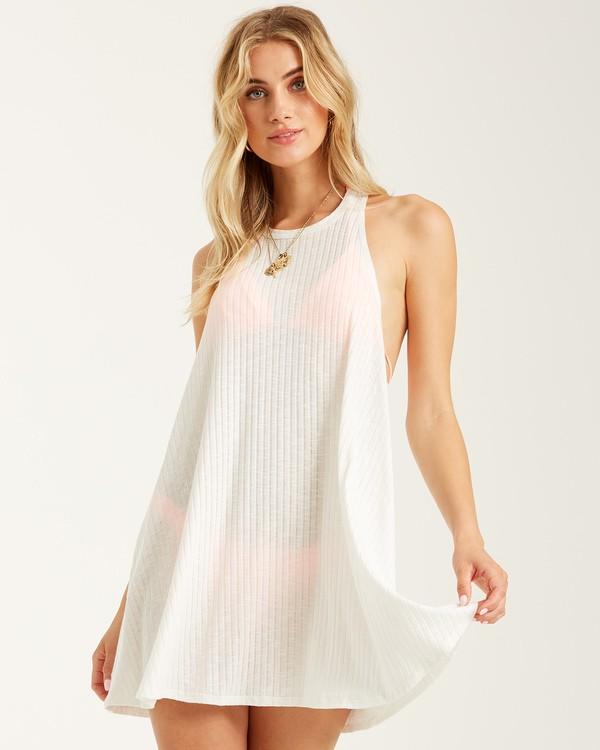 0 Sandy Sea Cover Up Dress White XV041BSA Billabong