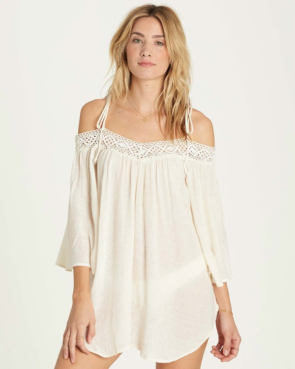 0 Breeze On Cover Up White XV04MBRE Billabong