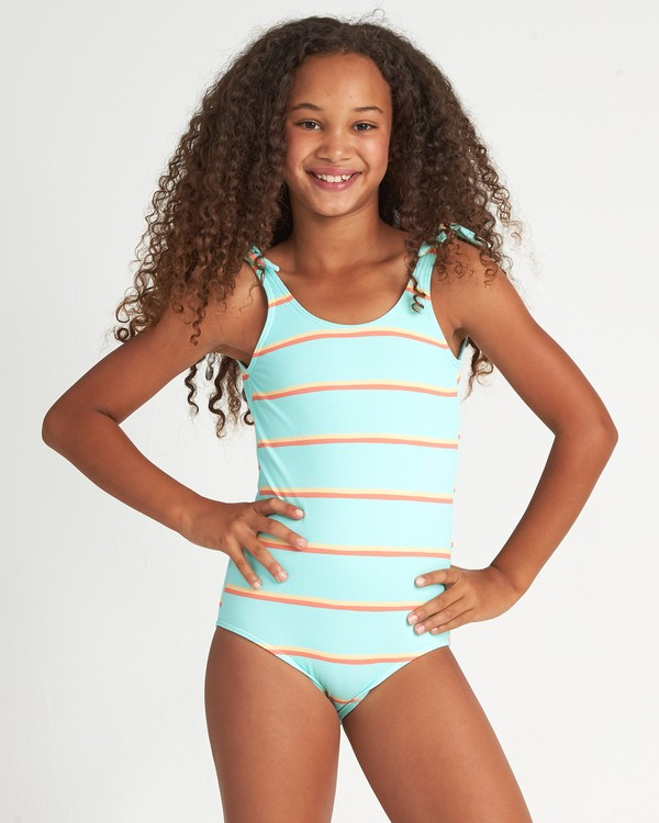 0 Girls' Baja Bliss One Piece Multicolor Y1051BBA Billabong