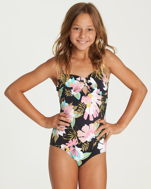 0 Night Bloom One Piece Swim Grey Y106UBNI Billabong