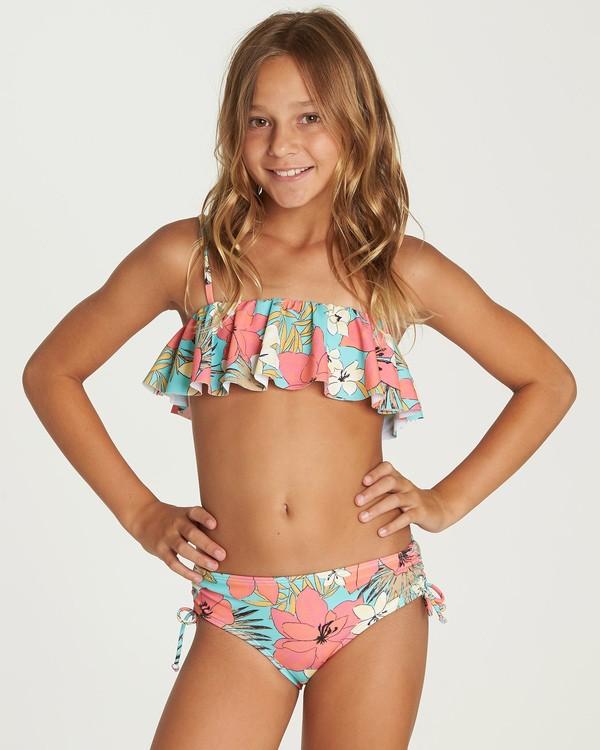 0 Aloha Sun Flutter Bikini Set Green Y204UBAL Billabong