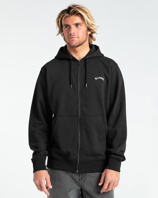 0 Original - Sweat à capuche zippé pour Homme Noir Z1FL34BIF1 Billabong