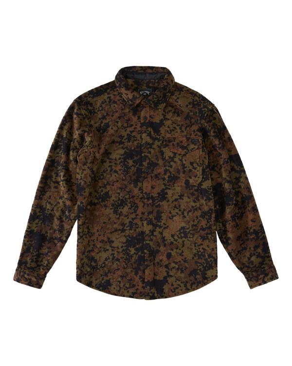0 Furnace Flannel - Camisa Polar para Hombre Camo Z1FL47BIF1 Billabong