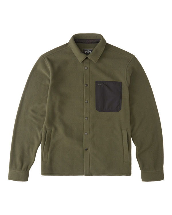 0 Furnace Explorer - Camisa Polar para Hombre Verde Z1FL56BIF1 Billabong