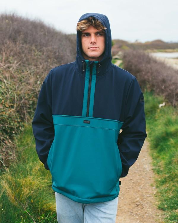 0 Boundary - Wasserabweisende Jacke für Männer Blau Z1JK33BIF1 Billabong