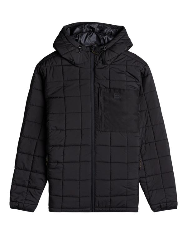 0 Journey Puffer - Puffer Jacket for Men Black Z1JK45BIF1 Billabong
