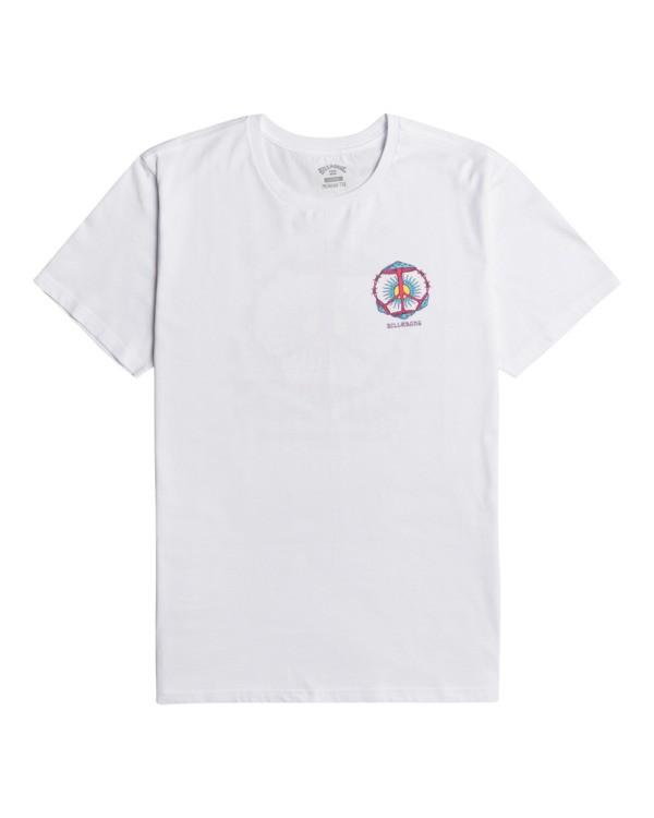 0 Shroom Peace - T-Shirt for Men White Z1SS35BIF1 Billabong