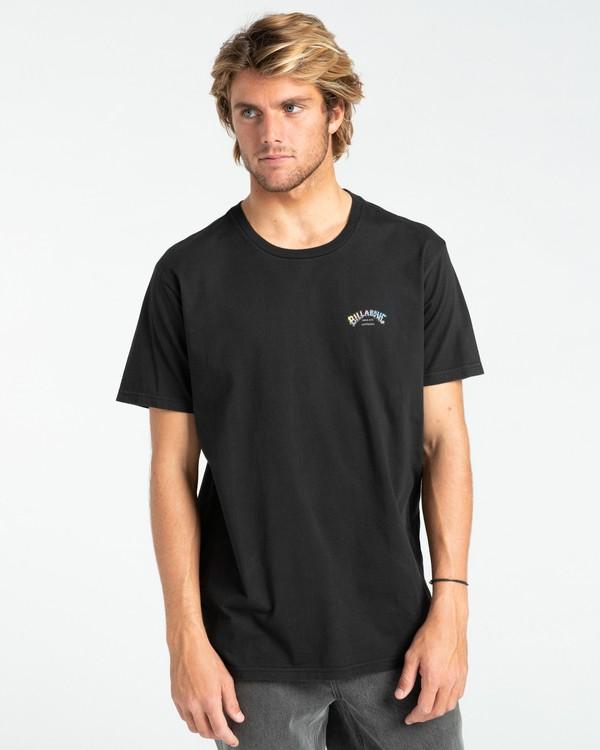 0 Heritage - Camiseta para Hombre Negro Z1SS55BIF1 Billabong