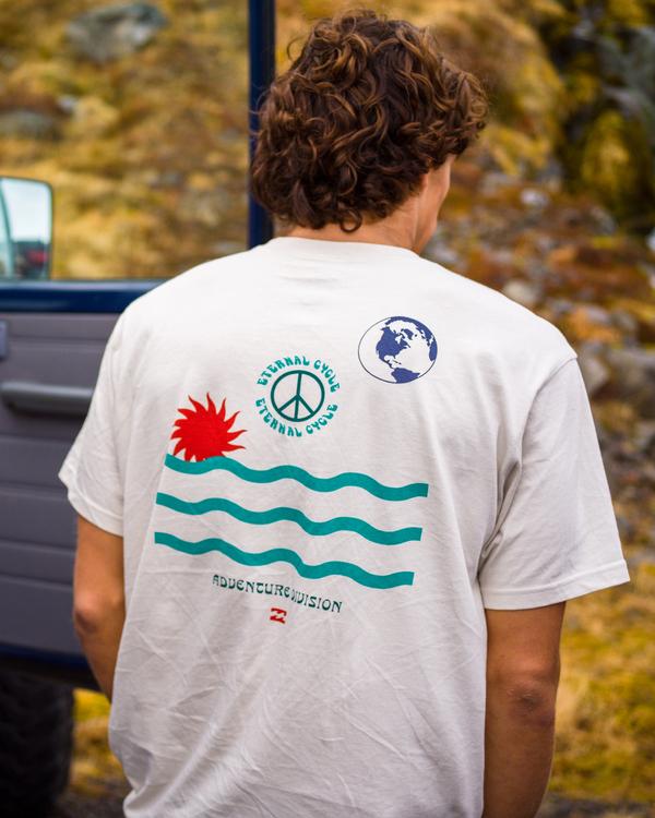 0 Dawn - Camiseta para Hombre Azul Z1SS69BIF1 Billabong