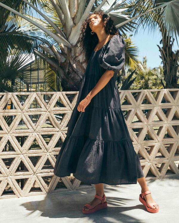 0 Endless Shore - Robe longue pour Femme Noir Z3DR26BIF1 Billabong