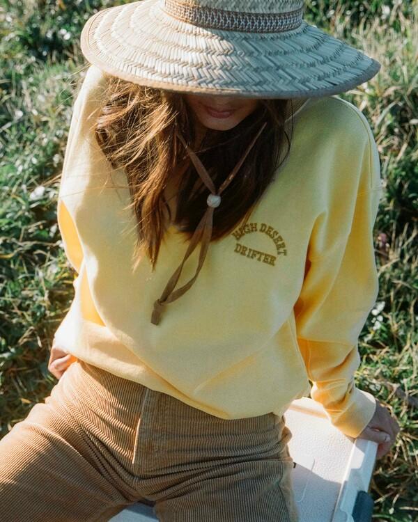 0 Wrangler Wayward - Sweatshirt for Women Yellow Z3FL22BIF1 Billabong
