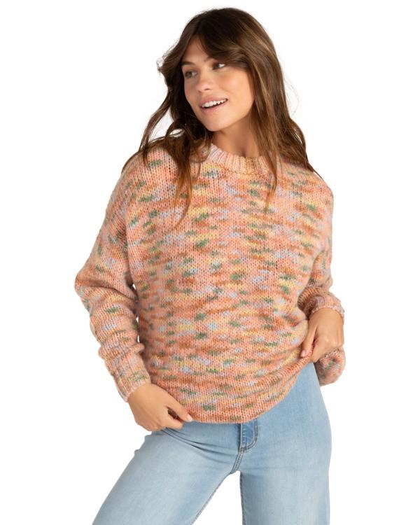 0 In The Sky - Jersey con cuello redondo para Mujer Multicolor Z3JP31BIF1 Billabong