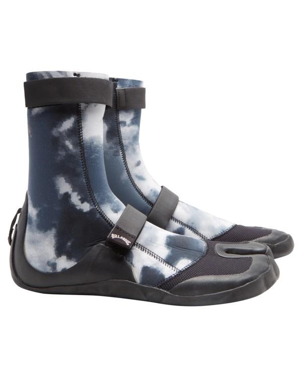 0 3mm Revolution - Split Toe Wetsuit Boots for Men Multicolor Z4BT23BIF1 Billabong