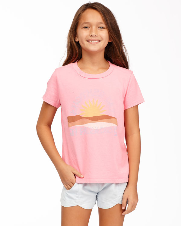 0 Day In Paradise - Camiseta para Chicas adolescentes Rosa Z8SS02BIF1 Billabong