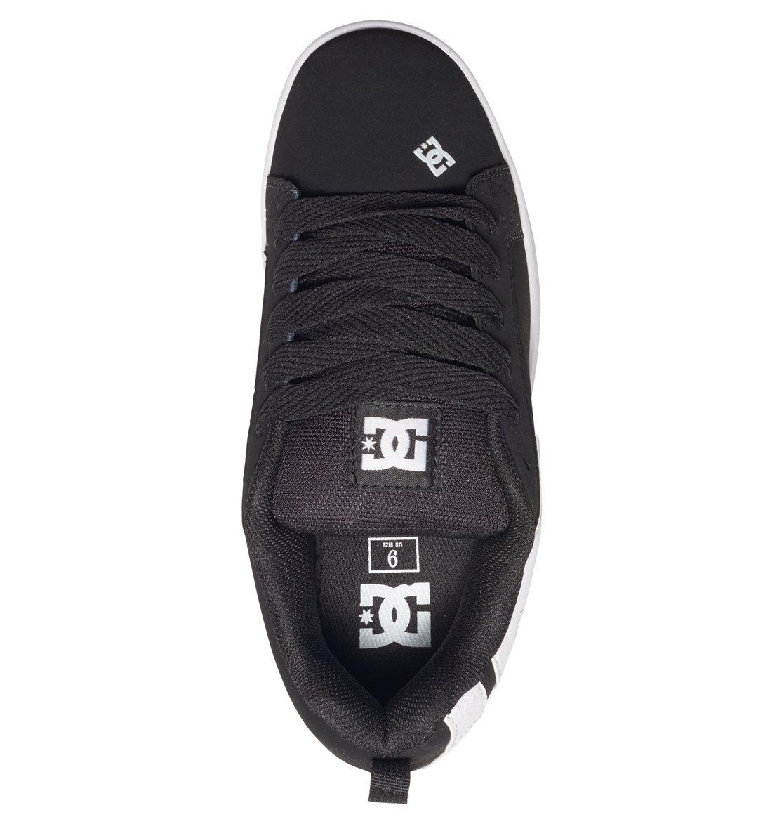 bf10b7383ee7f2 3 Court Graffik Shoes Black 300529 DC Shoes