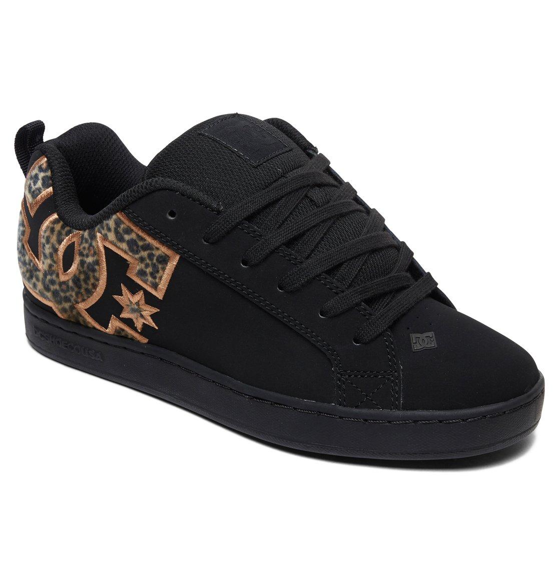 01ea9799cb9 1 Women's Court Graffik Shoes Black 300678 DC Shoes