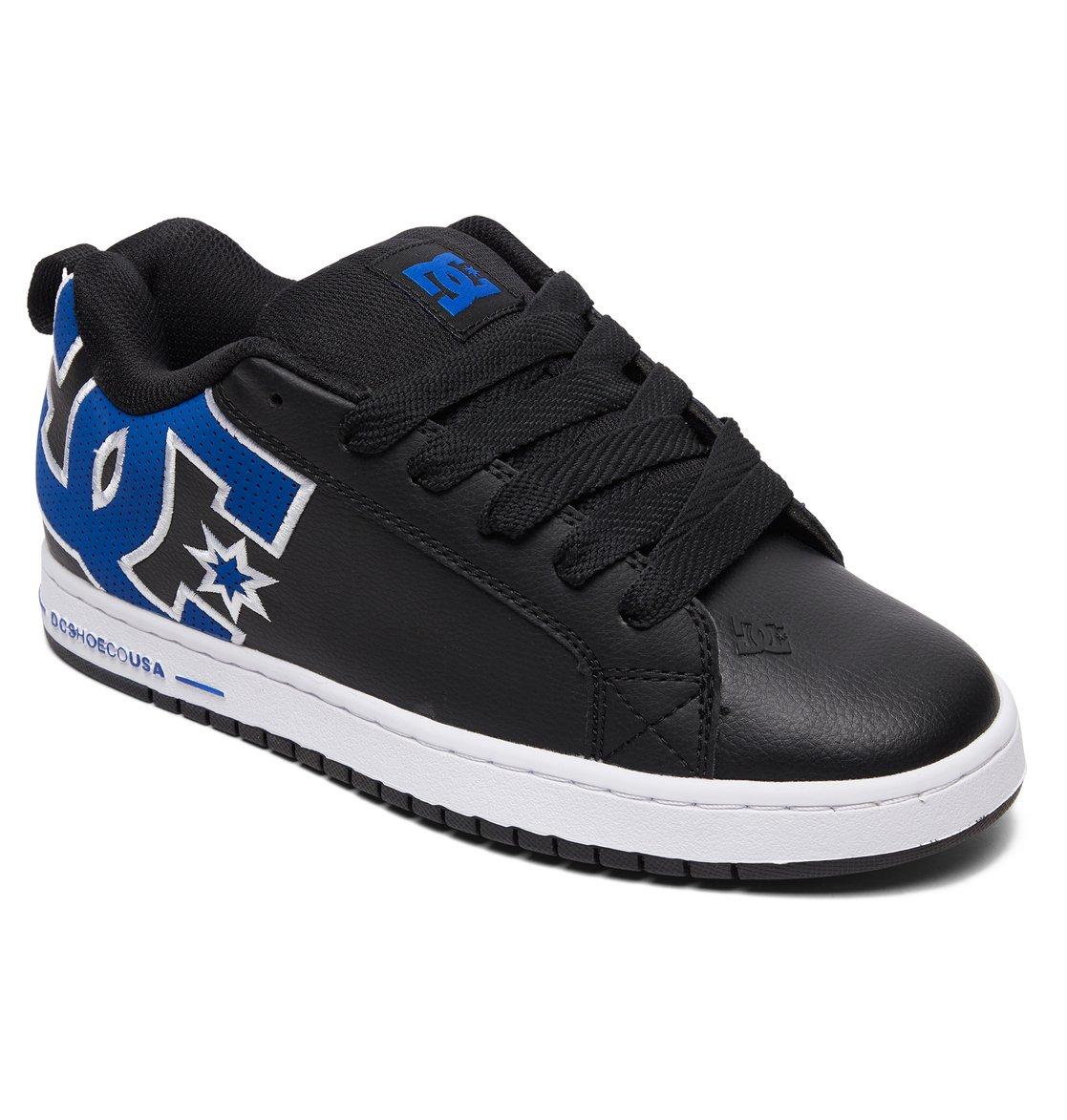 767dc7bc212e3e 1 Court Graffik SE Shoes Black 300927 DC Shoes