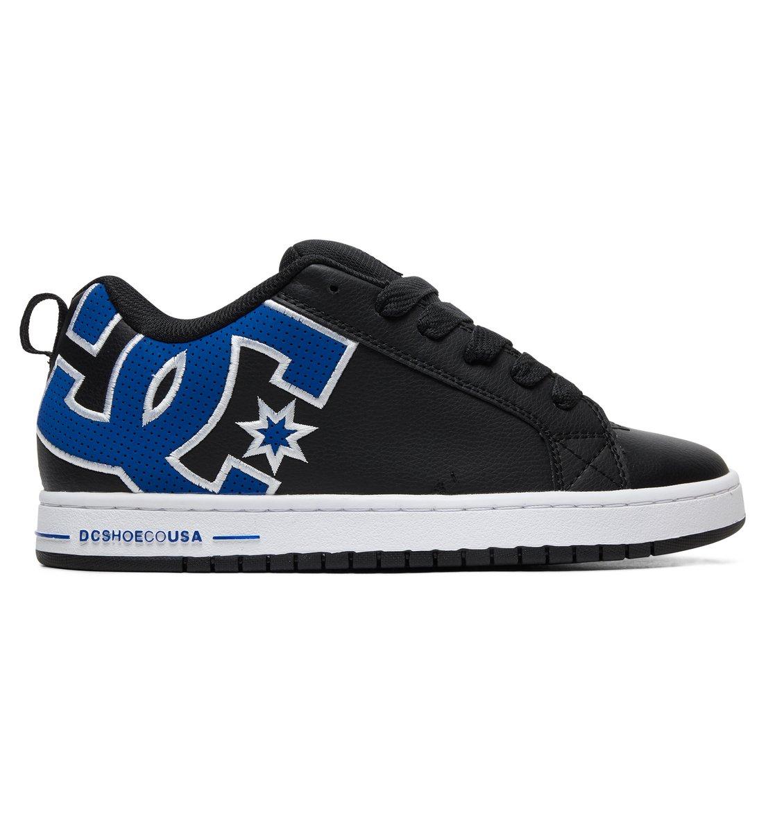 170ed0c52e403d 0 Court Graffik SE Shoes Black 300927 DC Shoes
