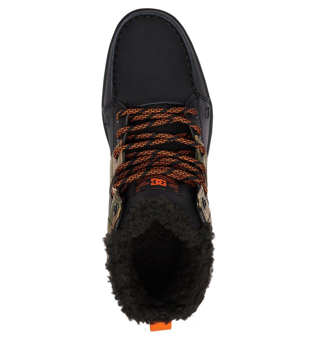 576548d5b 3 Woodland Lace-Up Boots Black 303241 DC Shoes