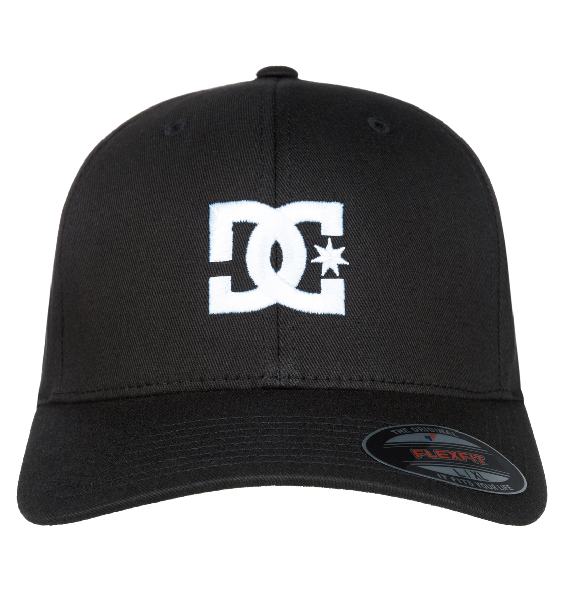 47c0c52b74bd3 1 Cap Star 2 Flexfit Hat Black 55300096 DC Shoes